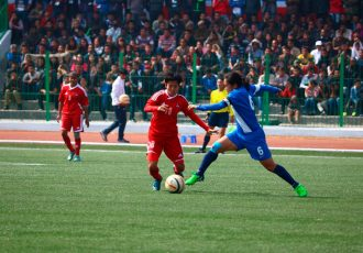 Match action from an Indian Women's National Team encounter. (Photo courtesy: AIFF Media)