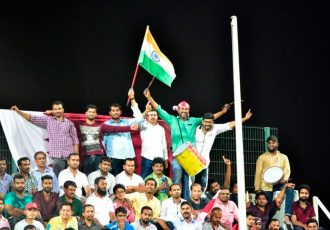 Indian football fans (Photo courtesy: AIFF Media)