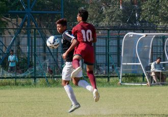 Mohammedan Sporting U-16 geared up for Mohun Bagan U-16 challenge (Photo courtesy: Mohammedan Sporting Club)