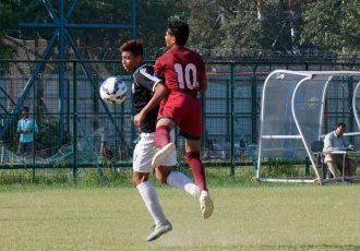 Mohammedan Sporting U-16 geared up for Mohun Bagan U-16 challenge (Photo courtesy: Mohammedan Sporting Club)