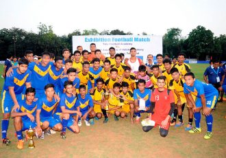 Odisha State Team beat Tata Football Academy in friendly (Photo courtesy: Football Association of Odisha)