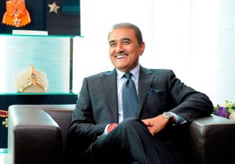 All India Football Federation (AIFF) President Praful Patel (Photo courtesy: AIFF Media)