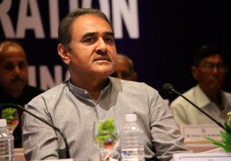 Praful Patel, President, All India Football Federation (Photo courtesy: AIFF Media)