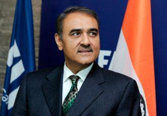 Praful Patel, President, All India Football Federation (Photo courtesy: AIFF Media)
