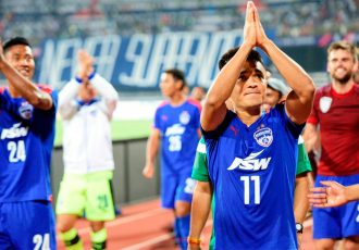 Bengaluru FC captain Sunil Chhetri (Photo courtesy: Bengaluru FC)