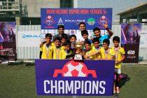 Vidya Bhavan emerge Aspire India School 5s champs (Photo courtesy: Aspire India Football)