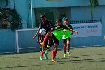 Match action from the Bajaj Allianz-Aspire India School 5s Under-12 Invitational Football Tournament 2016 in Pune. (Photo courtesy: Bajaj Allianz-Aspire India School 5s Under-12 Invitational Football Tournament)
