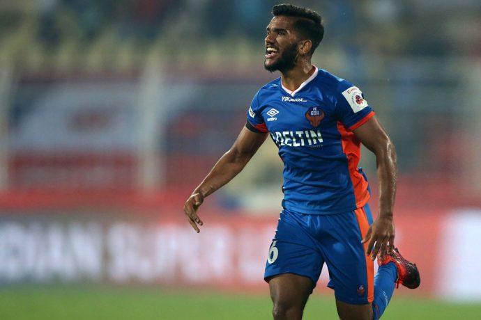 FC Goa midfielder Sahil Tavora (Photo courtesy: FC Goa)