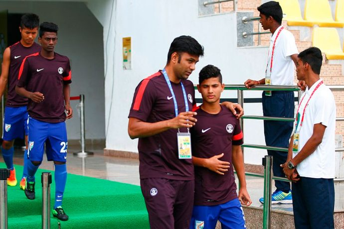 Abhishek Yadav (Photo courtesy: AIFF Media)