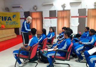 FIFA Women's Youth Course kicks-off in Gwalior (Photo courtesy: AIFF Media)