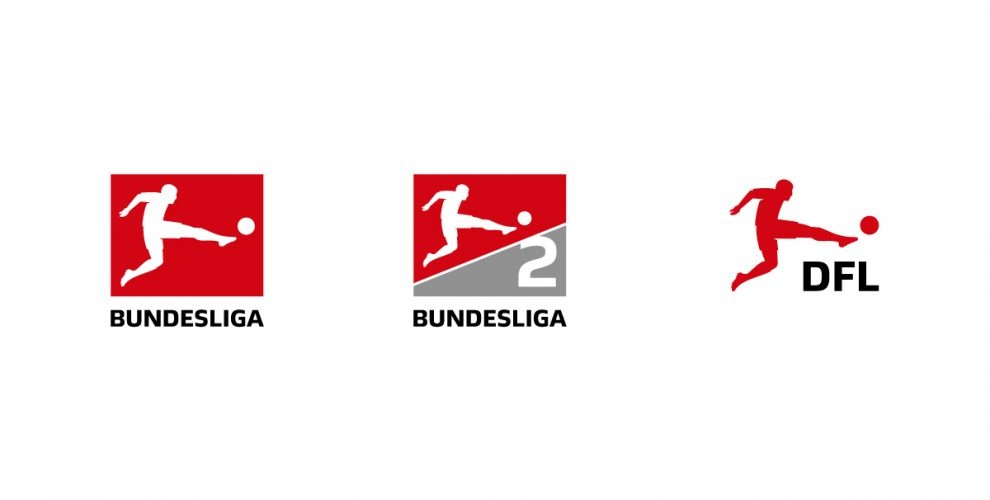 New logos of the Bundesliga. 2. Bundesliga and Deutsche Fußball-Liga (DFL)
