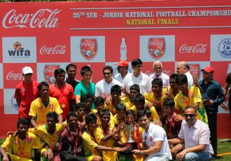 Coca-Cola Cup in India (Photo courtesy: AIFF Media)