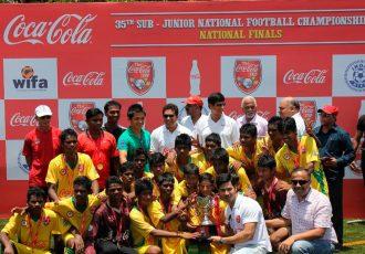 Coca-Cola Cup in India (Photo courtesy: AIFF Media)