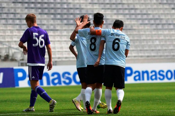 Atlético Paranaense U-17 International Tournament: India U16 v Orlando City SC (Photo courtesy: AIFF Media)