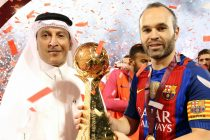 FC Barcelona secures the Qatar Airways Cup with a win against Al-Ahli Saudi FC (Photo courtesy: Qatar Airways)
