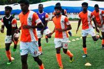 Sporting Clube de Goa training session (Photo courtesy: Sporting Clube de Goa)
