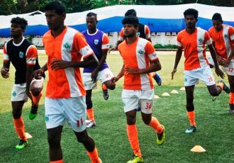 Sporting Clube de Goa training session (Photo courtesy: Sporting Clube de Goa)