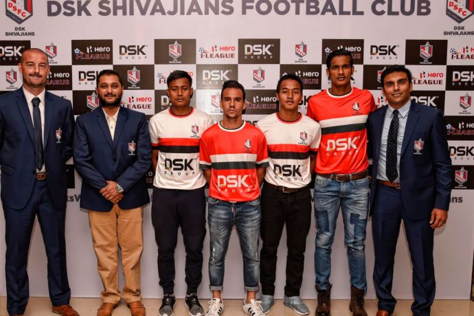DSK Shivajians FC announce their final squad for the 10th I-League (Photo courtesy: DSK Shivajians FC)