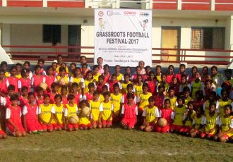 Sundargarh organises Grassroots Football Festival for boys & girls (Photo courtesy: Football Association of Odisha)