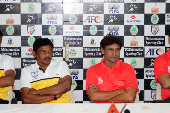 Second Division League pre-match press conference ahead of the Mohammedan Sporting Club v Southern Samity encounter (Photo courtesy: Mohammedan Sporting Club)