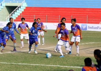 FC Pune City edge past Jeppiaar IT FC in Indian Women's League encounter (Photo courtesy: AIFF Media)