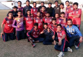 Rajasthan State Team (Photo courtesy: Rajasthan Football Association)