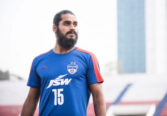 Bengaluru FC sign Indian international Sandesh Jhingan (Photo courtesy: Bengaluru FC)