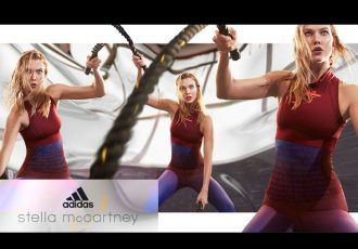 Karlie Kloss presents the adidas by Stella McCartney Spring/Summer 2017 collection (Photo courtesy: adidas)