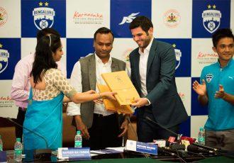 I-League champions Bengaluru FC teams up with Karnataka Tourism (Photo courtesy: Bengaluru FC)