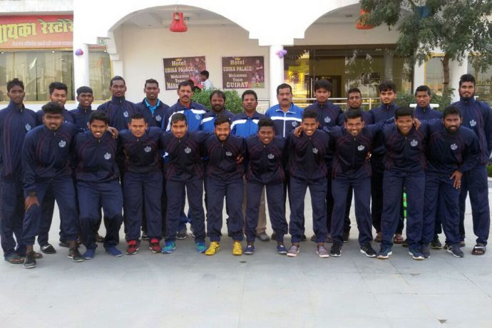 Goa State Team for the 71st Santosh Trophy 2017 (Photo courtesy: Goa Football Association)