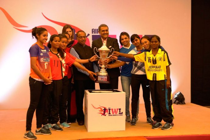 Indian Women's League (IWL) launched by All India Football Federation (Photo courtesy: AIFF Media)