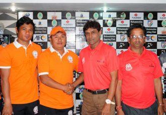 Mohammedan Sporting Club v NEROCA FC Pre-Match Press Conference (Photo courtesy: Mohammedan Sporting Club)