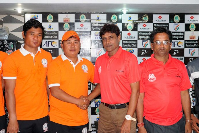 Mohammedan Sporting Club v NEROCA FC Pre-Match Press Conference (Photo courtesy: Mohammedan Sporting Club)