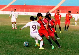 Rising Student Club pip Eastern Sporting Union to go top of IWL table (Photo courtesy: AIFF Media)
