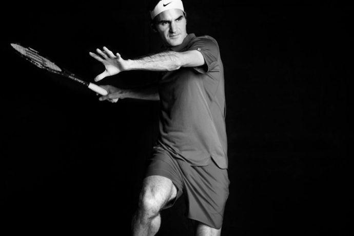 Roger Federer (Photo courtesy: Nike)