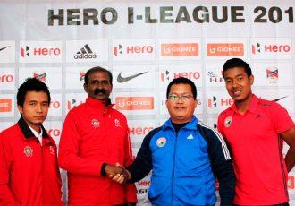 Shillong Lajong FC v Chennai City FC pre-match press conference (Photo courtesy: Shillong Lajong FC)