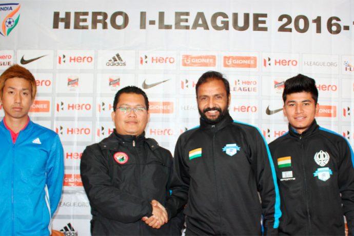 Shillong Lajong FC v Minerva Punjab FC pre-match press conference (Photo courtesy: Shillong Lajong FC)