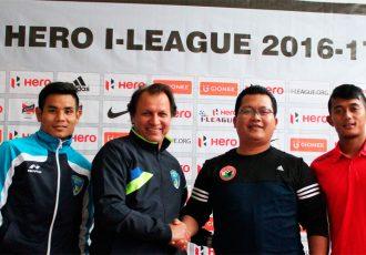 Shillong Lajong FC v Mumbai FC Pre-Match Press Conference (Photo courtesy: Shillong Lajong FC)