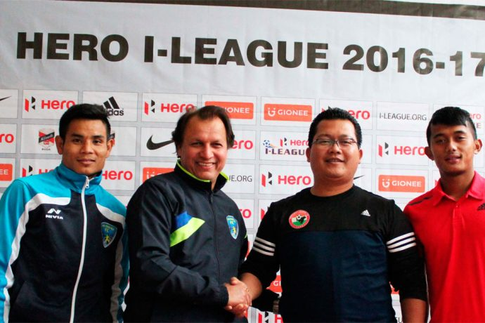 Shillong Lajong FC v Mumbai FC Pre-Match Press Conference (Photo courtesy: Shillong Lajong FC)