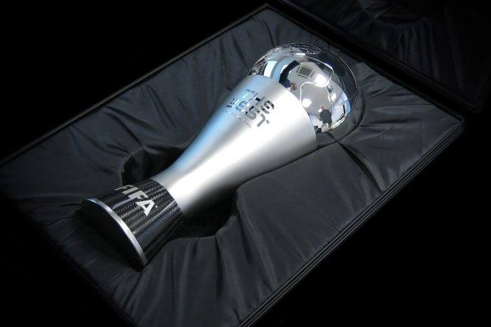 The Best FIFA Football Award Winners Trophy (Photo courtesy: FIFA)