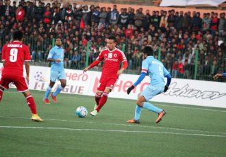 Shillong Lajong FC's Redeem Tlang in action (Photo courtesy: Shillong Lajong FC)