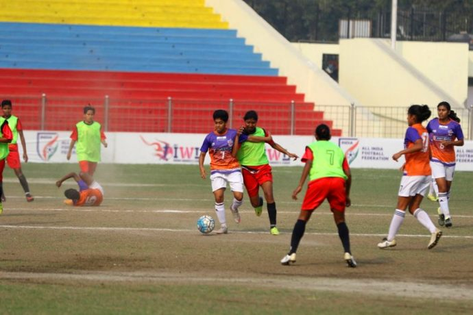 Rising Student Club hammer FC Pune City to rise to top of the IWL table (Photo courtesy: AIFF Media)