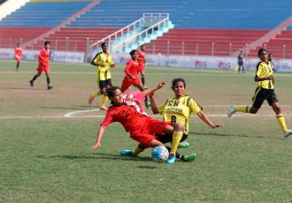 Rising Student Club qualify for Indian Women's League semis (Photo courtesy: AIFF Media)