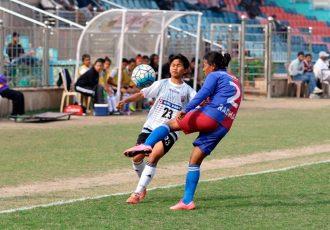 12-year old Senorita Nongpluh catches the eye in Indian Women's League (Photo courtesy: AIFF Media)