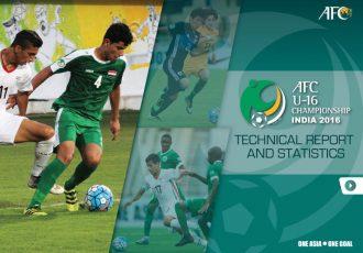 AFC U-16 Championship India 2016 Technical Report (Image courtesy: Asian Football Confederation)