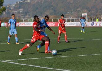 Aizawl FC overcome Churchill Brothers SC at ease (Photo courtesy: I-League Media)