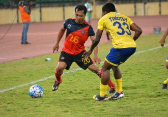 Chennai City FC overcome Mumbai FC on V Soundararajan's debut (Photo courtesy: I-League Media)
