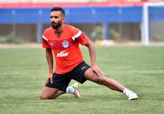 Bengaluru FC star Harmanjot Singh Khabra (Photo courtesy: Bengaluru FC)
