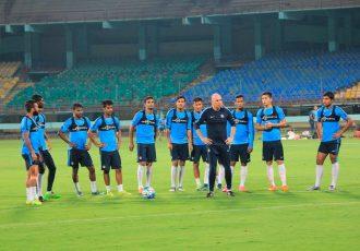 Indian Senior National Team (Photo courtesy: AIFF Media)
