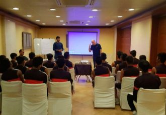 India U-17 World Cup team trains under Senior Head Coach Stephen Constantine (Photo courtesy: AIFF Media)